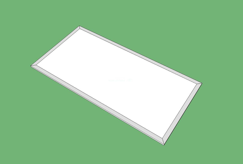 集成吊顶面板灯,面板灯导光板